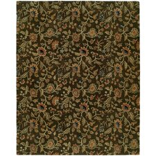 Newport Mansions Brown Chateau Rug