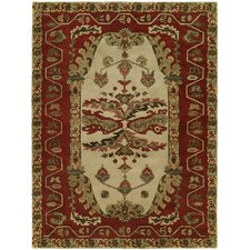 Newport Mansions Sand/Red Kingscote Rug