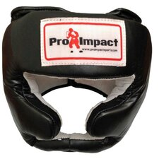 Genuine Leather Headgear and Cheek Protector