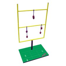 Double Football Toss Game Set