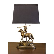 """NCAA Tim Wolfe 19"""" H Table Lamp with Empire Shade"""