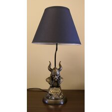 "NFL Tim Wolfe 19"" H Table Lamp with Empire Shade"