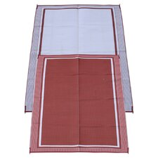 <strong>Fireside Patio Mats</strong> Cranberry Sunrise Mat