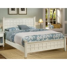 Arts and Crafts Queen Panel Bed
