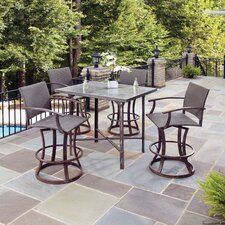 Urban Outdoor 5 Piece Bar Height Dining Set