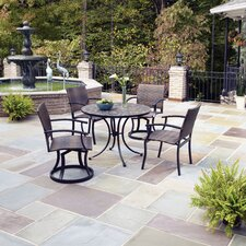 <strong>Home Styles</strong> Stone Harbor 5 Piece Dining Set with Newport Chairs