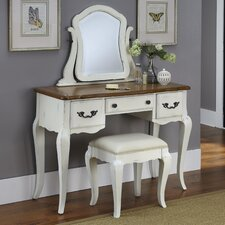French Countryside Vanity Set with Mirror