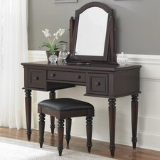 <strong>Home Styles</strong> Bermuda Vanity Set with Mirror