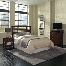 Cabin Creek Slat 3 Piece Headboard Bedroom Collection II