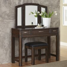 Crescent Hill Vanity with Bench