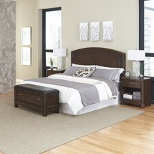 Crescent Hill Headboard 4 Piece Bedroom Collection