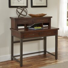 Cabin Creek Computer Desk with Hutch