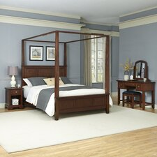 Chesapeake Canopy 4 Piece Bedroom Collection