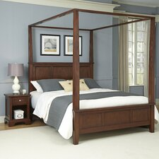 Chesapeake Canopy 2 Piece Bedroom Collection