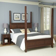 Chesapeake Four Poster 3 Piece Bedroom Collection