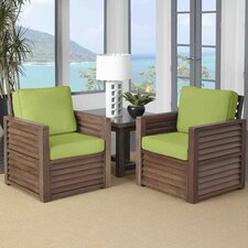 Barnside 3 Piece Deep Seating Group with Cushions