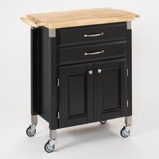 <strong>Home Styles</strong> Dolly Madison Prep and Serve Kitchen Cart