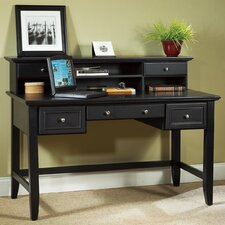 Bedford Executive Writing Desk and Hutch Set