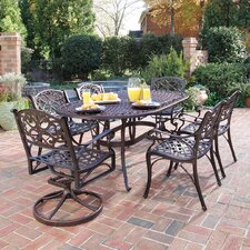 <strong>Home Styles</strong> Biscayne 7 Piece Dining Set