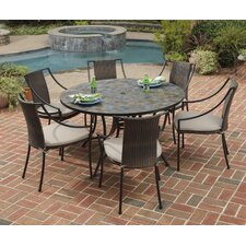 <strong>Home Styles</strong> Stone Harbor 7 Piece Dining Set with Cushions