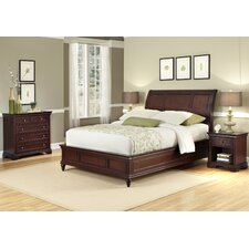 Lafayette 3 Piece Sleigh Headboard Bedroom Collection