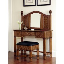 Marco Island Vanity Set with Mirror