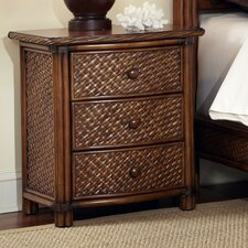 Marco Island 3 Drawer Nightstand