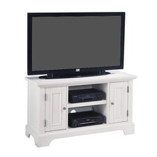 "Naples 44"" TV Stand in White"