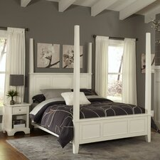 Naples Four Poster 2 Piece Bedroom Collection
