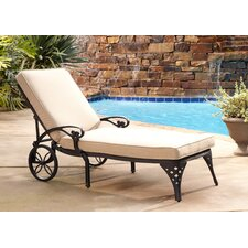 <strong>Home Styles</strong> Biscayne Chaise Lounge with Cushion