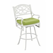 """Biscayne 28"""" Bistro Stool with Cushion"""