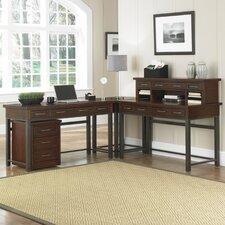 Cabin Creek L-Shape Writing Desk Office Suite II