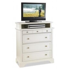 "<strong>Home Styles</strong> Naples 4 Drawer TV 36"" Media Chest"