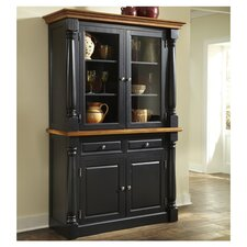 <strong>Home Styles</strong> Monarch Buffet with Hutch