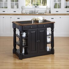 <strong>Home Styles</strong> Americana Kitchen Island with Granite Top