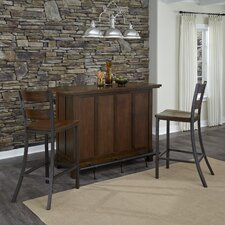 Cabin Creek Home Bar Set
