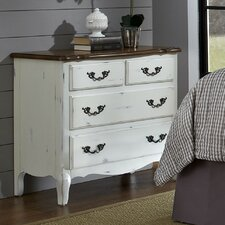 <strong>Home Styles</strong> French Countryside 4 Drawer Chest