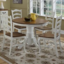 French Countryside 5 Piece Dining Set