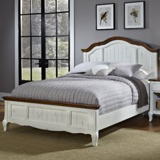 French Countryside Panel Bed