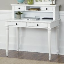 Bermuda Writing Desk with Hutch