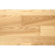 "2-1/4"" Solid Ash Parquet Flooring in Pacific"