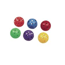 Flying Colors Plastic Baseball (Set of 6)