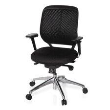 """Bürostuhl / Chefsessel tiefenverstellbar """"Cardiff Pro"""" mit Armlehnen"""