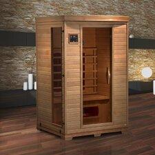 Luxury 2 Person Ceramic FAR Infrared Sauna