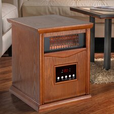 1,500 Watt Infrared 6 Quartz Element Space Heater