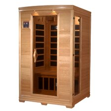 <strong>Dynamic Infrared</strong> Luxury 2 Person Carbon FAR Infrared Sauna