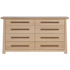 <strong>Urbangreen Furniture</strong> Hamilton 8 Drawer Dresser