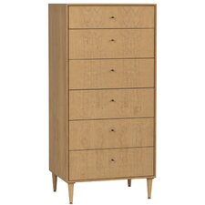 <strong>Urbangreen Furniture</strong> Midcentury 6 Drawer Chest