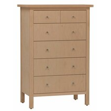 Hudson 6 Drawer Chest