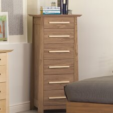 <strong>Urbangreen Furniture</strong> Hamilton 6 Drawer Lingerie Chest